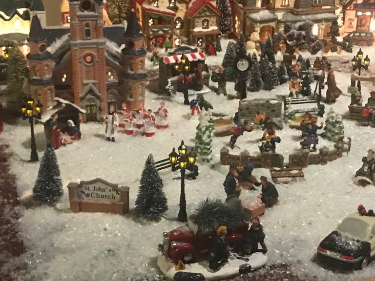 Amazing Christmas village