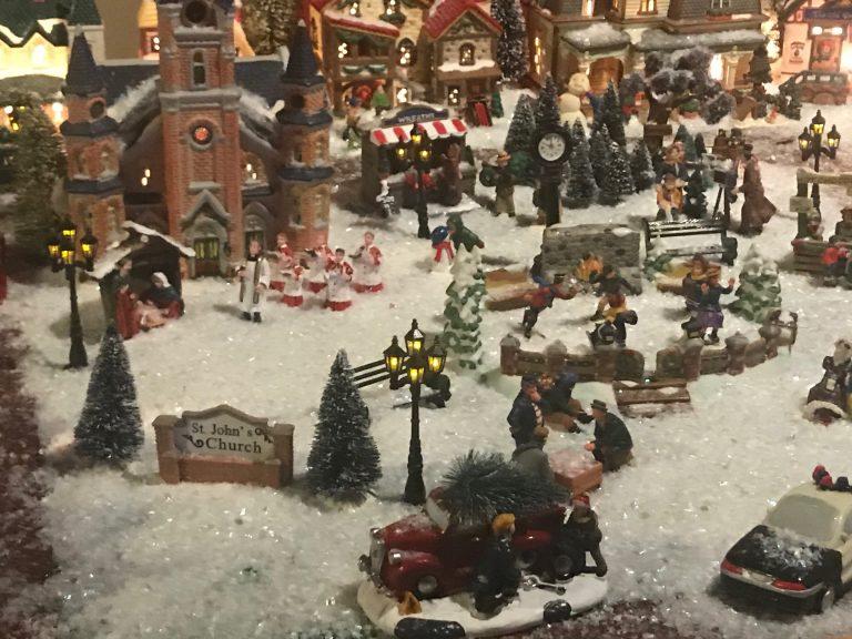 Amazing Christmas village
